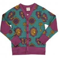 Maxomorra Vintage Treasures V Sweat Cardigan