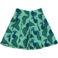 Maxomorra Peacock Spin Skirt