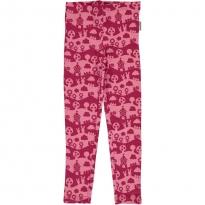 Maxomorra Pink Landscape Leggings