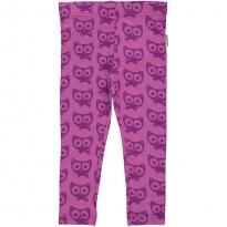 Maxomorra Purple Cats Leggings