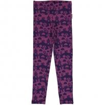 Maxomorra Purple Landscape Leggings
