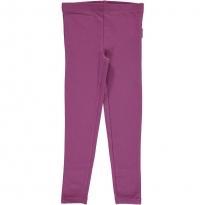 Maxomorra Purple Leggings