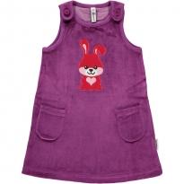 Maxomorra Rabbit Embroidered Dress