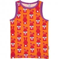 Maxomorra Orange Rabbit Vest