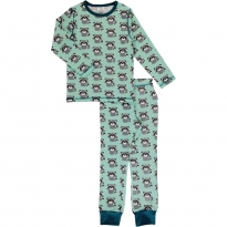 Maxomorra Raccoon LS Pyjamas