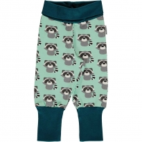 Maxomorra Raccoon Rib Pants