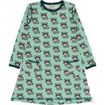 Maxomorra Raccoon LS Dress