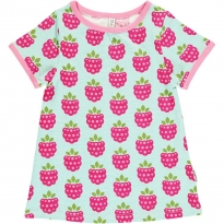 Maxomorra Raspberry A-Line SS Top