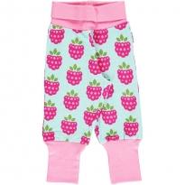 Maxomorra Raspberry Rib Pants