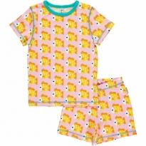 Maxomorra Goldfish Shortie Pyjamas