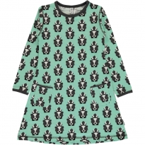 Maxomorra Long Sleeve Skunk Dress