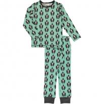 Maxomorra Long Sleeve Skunk Pyjama Set