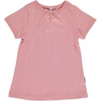 Maxomorra Dusty Pink A-Line SS Top