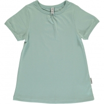 Maxomorra Pale Blue A-Line SS Top