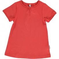 Maxomorra Rusty Red A-Line SS Top