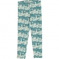 Maxomorra Ocean Landscape Leggings