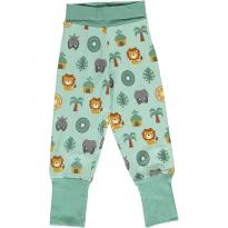 Maxomorra Jungle Rib Pants