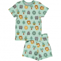 Maxomorra Jungle SS Pyjamas