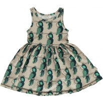 Maxomorra Parrot Sleeveless Spin Dress