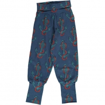 Maxomorra Anchor Rib Pants