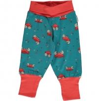 Maxomorra Crab Rib Pants