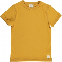 Maxomorra Solid Ochre SS Top