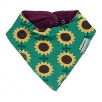Maxomorra Sunflower Dribble Bib