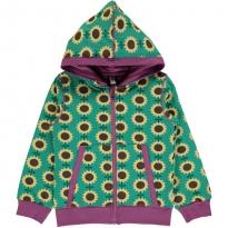 Maxomorra Sunflower Hooded Cardigan