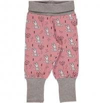 Maxomorra Sweet Bunny Rib Pants