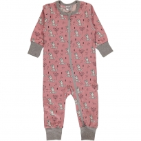Maxomorra Sweet Bunnies LS Rompersuite