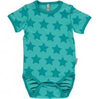Maxomorra Turquoise Stars SS Body