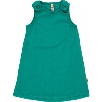 Maxomorra Turquoise Velour Dress