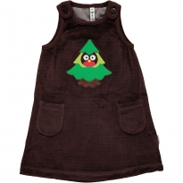 Maxomorra Forest Embroidered Dress