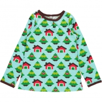 Maxomorra Forest LS A-Line Top