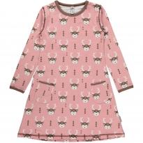 Maxomorra Deer LS Dress
