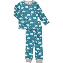 Maxomorra Polar Bear LS Pyjamas