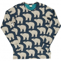 Maxomorra Adult Polar Bear LS Top