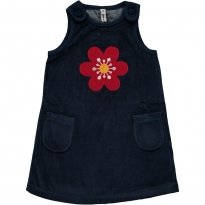 Maxomorra Anemone Embroidered Dress