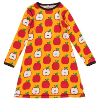 Maxomorra Apple LS Dress