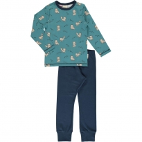 Maxomorra Arctic Fox LS Pyjamas