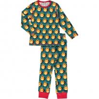 Maxomorra Beaver LS Pyjamas