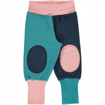 Maxomorra Block Multi Snow Sweat Rib Pants
