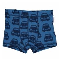 Maxomorra Blue Cars Boxer Shorts