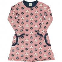 Maxomorra Blueberry Blossom LS Dress