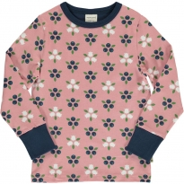 Maxomorra Blueberry Blossom LS Top