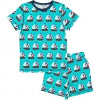Maxomorra Boat Short Pyjamas