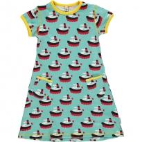 Maxomorra Boat SS Dress