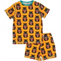 Maxomorra Bulldog Shortie Pyjamas