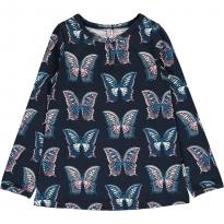 Maxomorra Butterfly A-Line LS Top