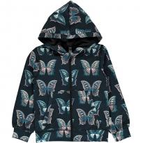 Maxomorra Butterfly Zip Hoody
